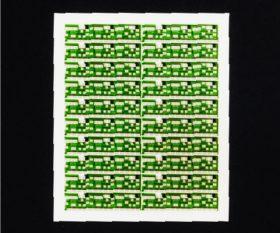 レーザー加工基板、厚膜印刷基板4