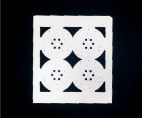 レーザー加工基板、厚膜印刷基板3